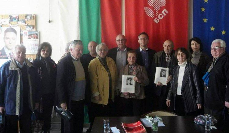 Българските антифашисти в Ямбол подкрепиха кандидатите на
