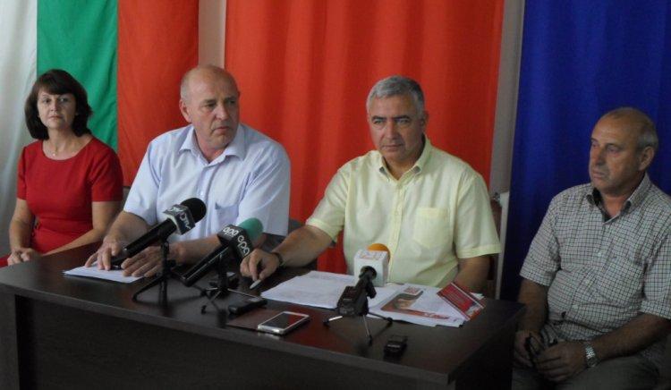 БСП представи официално кандидатите си кметове на петте общини в област Ямбол